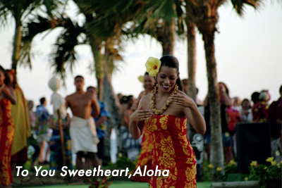 To You, Sweetheart, Aloha