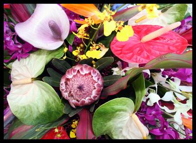 Hawaii Flower Bouquet