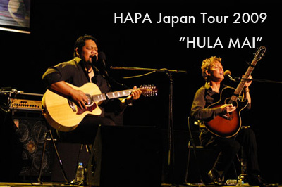 HAPA Japan tour 2009