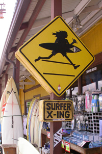 Hawaii Surf shop