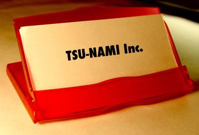TSU-NAMI CARD